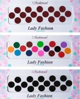 Lady Fashion Ashirwad Plain Bindi 2710201606 Forehead Multicolor Bindis(Stick on) - Price 148 50 % Off