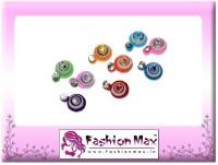 Fashion Max Nano Design Multicolor with Crystal Forehead Multicolor Bindis(Fancy Design)