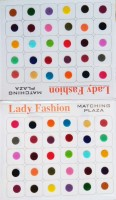 Lady Fashion Matching Plaza 2510201602 Forehead Multicolor Bindis(Plain) - Price 109 27 % Off
