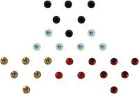 Instabuyz Golden Stone Forehead Multicolor Bindis(Fancy Bindi) - Price 99 82 % Off