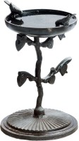 Karara Mujassme Antique Style Bird Bath Common Bird Feeder(Black)