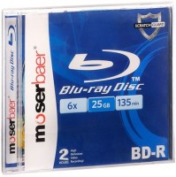 View Moserbaer Blu-ray Recordable 25 GB Laptop Accessories Price Online(Moserbaer)