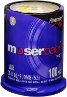 Moserbaer CD Rewritable Cake Box 700 MB