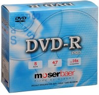 View Moserbaer DVD Recordable Jewel Case 4.7 GB Laptop Accessories Price Online(Moserbaer)