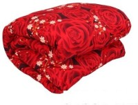 Gunnu Floral Double Comforter(Microfiber, Multicolor)