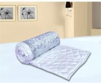 Chelsi Printed Double Comforter(Microfiber, White)