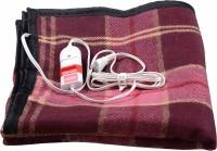 Comfort Checkered Single Electric Blanket(Cotton, Multicolor)