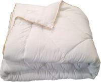 Valtellina Plain Single Comforter(Microfiber, White)