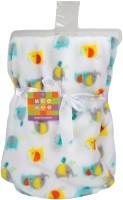 MeeMee Printed Single Blanket(Microfiber, Yellow)