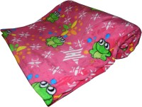 Expressions Plain Single Blanket(Polyester, Multicolor)
