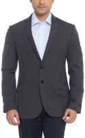 Raymond Solid Single Breasted Formal Men's Blazer(Grey)