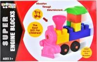 Kreative Kids Super Engine Blocks - Education Through Entertainement - Age 3+(Multicolor)
