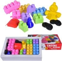Kreative Kids Super Engine Blocks(Multicolor)