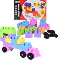 Kreative Kids Super Mega Blocks(Multicolor)