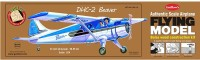 Guillow's Dhc-2 Beaver Authentic Balsaa Wood Flying Collectors Model(Multicolor)