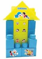 Kreative Kids Doraemon Small Doll House Blocks Construction Set For Kids(Multicolor)