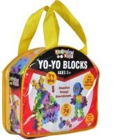 Kreative Kids Yo-Yo Blocks - More than 74 pcs Construction set(Multicolor)