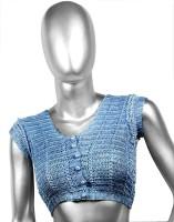 moKanc V-Neck Women's Stitched Blouse