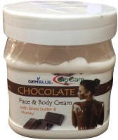 Gemblue Biocare Chocolate Face and Body Cream with Shea butter and Honey(500 ml)