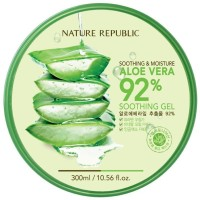 Nature Republic - Soothing & Moisture Aloe Vera 92% Soothing Gel(300 ml)
