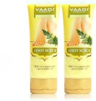 Vaadi Herbals Value Pack of Foot Scrub with Fenugreek & Lemongrass Oil(220 g)