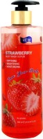 Love Your Body Strawberry Body Wash Scrub (Made In UK)(500 ml) - Price 400 84 % Off