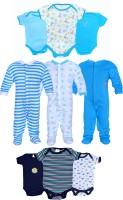 Gee & Bee Baby Boys & Baby Girls Blue, White, Black Bodysuit