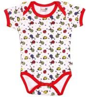 NeedyBee Baby Girls Red Bodysuit