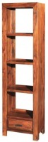 View Ringabell Libro Solid Wood Open Book Shelf(Finish Color - Mahogany) Furniture (Ringabell)