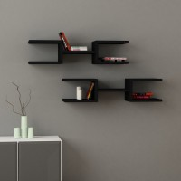 View Kingscrafts Solid Wood Open Book Shelf(Finish Color - Black) Furniture (Kingscrafts)