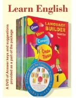 Learn English: Language Builder With - CD (Set of 8 Books)(English, Paperback, David Dye)