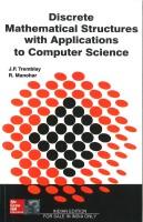 Discrete Mathematical Structure Books 1st Edition(English, Paperback, TREMBLAY)