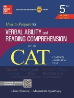 How to Prepare for Verbal Ability and Reading Comprehension for CAT 5th Edition(English, Paperback, Arun Sharma, Meenakshi Upadhyay)