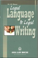 Legal Language & Legal Writing(English, Paperback, Dr. S.R. Myneni)