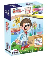 Perfect Genius Junior for Class 1 & 2 (Olympiads, Science, Maths, EVS, Logic and English) ages 6 to 8 with 30 Online Practice Tests(English, Paperback, Disha Experts)