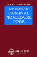 Law relating to Criminal Procedure Code(English, Hardcover, Dr. N. Maheshwara Swamy)