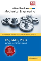 Handbook on Mechanical Engineering ESE,GATES,PSUs Other Competitive Exams(English, Paperback, Made Easy)