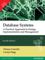 Database Systems : A Practical Approach to Design, Implementation and Management 4th  Edition(English, Paperback, CONNOLLY)