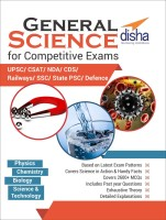 General Science for Competitive Exams - CSAT/ NDA/ CDS/ Railways/ SSC/ UPSC/ State PSC/ Defence(English, Paperback, Disha Experts)