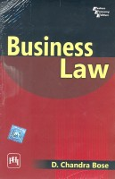 Business Law 01 Edition 01 Edition(English, Paperback, Bose D. Chandra)