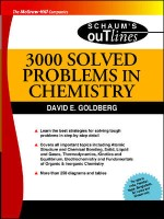 3000 Solved Problems In Chemistry(English, Paperback, David Goldberg)