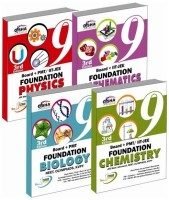 Board + PMT / IIT - JEE Foundation (science+maths) set of 4 books. 3rd Edition(English, Paperback, Disha Experts)