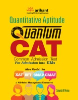 Quantitative Aptitude Quantum CAT Common Admission Test for Admission into IIMs(English, Paperback, Sarvesh K Verma)