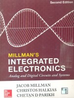INTEGRATED ELECTRONICS: ANALOG AND DIGITAL CIRCUIT SYSTEMS 2 Edition(English, Paperback, Jacob Millman, Christos Halkias, Chetan D Parikh)