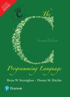C Programming Language 2nd Edition(English, Paperback, Brian W. Kernighan, Dennis M. Ritchie)