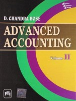 Advanced Accounting - (Volume – 2)(English, Paperback, CHANDRA BOSE)