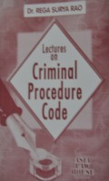 Lectures on Criminal Procedure Code(English, Paperback, Rega Surya Rao)