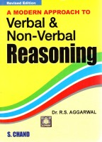 Modern Approach To Verbal & Non-Verbal Reasoning Revised Edition(English, Paperback, R S Aggarwal)