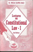 Lectures on Constitutional Law - I(English, Paperback, Dr. Rega Surya Rao)