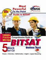 Comprehensive Guide to BITSAT Online Test with 5 Mock Test CD 5th Edition(English, Paperback, Disha Experts)